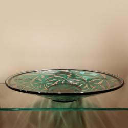 Piatto in vetro di Murano 9468