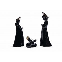 CHRISTMAS NATIVITY - BLACK