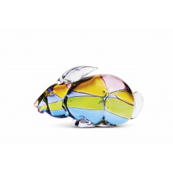RABBIT IN MURANO GLASS Z456